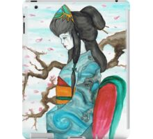 Geisha Tears in Spring iPad Case/Skin