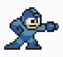 Mega Man Game 8-Bits One Piece - Long Sleeve