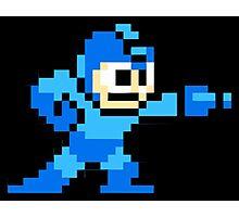 Mega Man Game 8-Bits Photographic Print