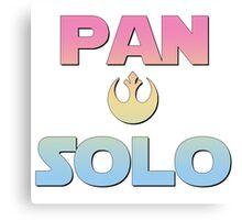 Pan Solo Canvas Print