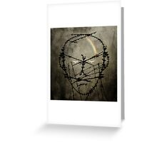 Prisoner of conscience Greeting Card