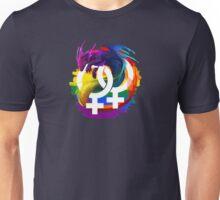 Lesbian Pride Dragon Unisex T-Shirt