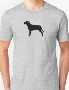 American Pit Bull Terrier Silhouette(s) Unisex T-Shirt