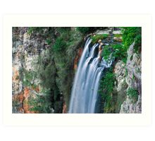 Purlingbrook Falls in Springbrook Art Print
