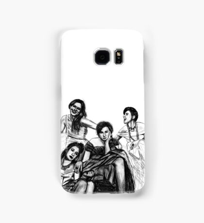 HBO Girls Drawing Samsung Galaxy Case/Skin