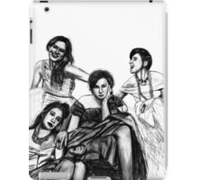 HBO Girls Drawing iPad Case/Skin