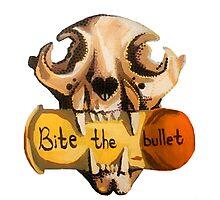 Bite the Bullet Photographic Print