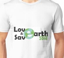 earth day, Let's Love and save earth Unisex T-Shirt