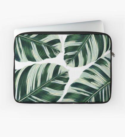 Tropical Foliage #redbubble #lifestyle Laptop Sleeve