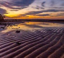 sunset ripples by warren dacey