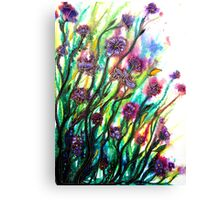Amongst the Wildflowers Canvas Print