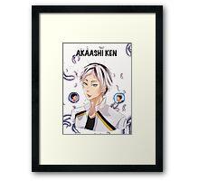 Akaashi Ken (BokuAka kid) Framed Print