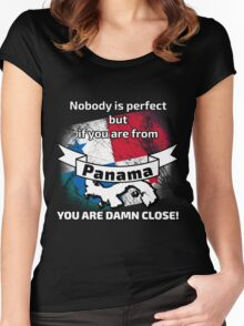 Perfect panama papers Women's Fitted Scoop T-Shirt