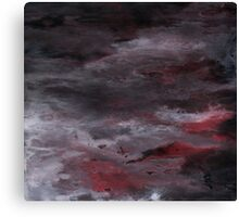 Sea of Blood, Leaden Sky Canvas Print