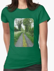 The Road to the Wood Womens Fitted T-Shirt