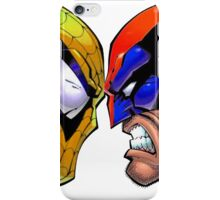 Revers Spider-man V.S. Wolverine iPhone Case/Skin