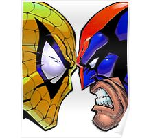 Revers Spider-man V.S. Wolverine Poster