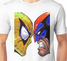 Revers Spider-man V.S. Wolverine Unisex T-Shirt