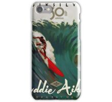 Quicksilver 30th Annual - Surf Poster iPhone Case/Skin