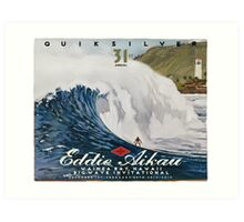 Quicksilver 31st Annual - Surf Poster Art Print