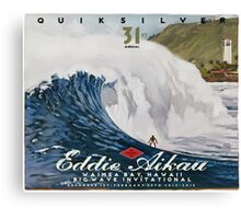 Quicksilver 31st Annual - Surf Poster Canvas Print