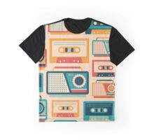 Audio Cassettes and Radios Graphic T-Shirt