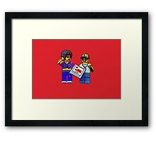 You complete me! Framed Print