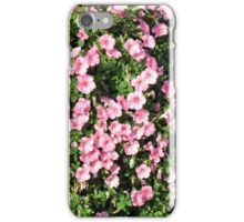 Beautiful spring bush with pink flowers. iPhone Case/Skin