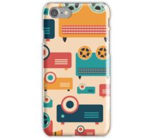 Retro Projectors iPhone Case/Skin