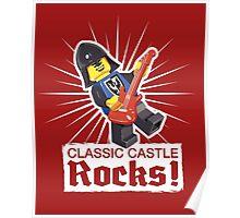 Classic Castle Rocks! Poster