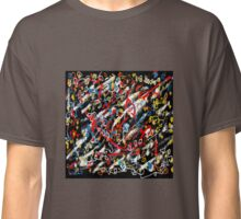 Abstract  space black Classic T-Shirt
