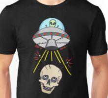 Alien Skull Abduction Unisex T-Shirt