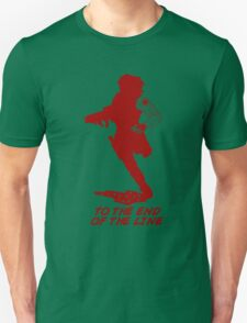Winter Soldier - End of the Line - Silhouette (Red) T-Shirt