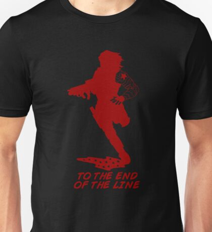 Winter Soldier - End of the Line - Silhouette (Red) Unisex T-Shirt