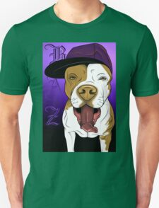 art dog pitbull T-Shirt