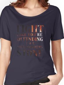 Like You're Defending the Philosopher's Stone. Women's Relaxed Fit T-Shirt