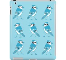 Blue Jays Pattern iPad Case/Skin