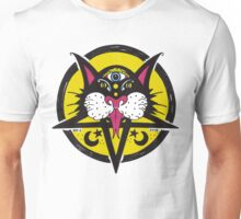 Black Moon Cat Unisex T-Shirt