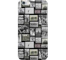 Vintage Swimmers - Tiled Format  iPhone Case/Skin