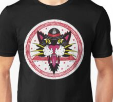 Black Hat Cat Unisex T-Shirt