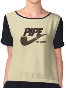 Just Magritte Chiffon Top