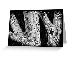 Punk Rock Tree Greeting Card