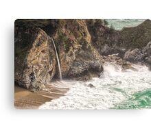 McWay Falls - Big Sur - California USA Canvas Print