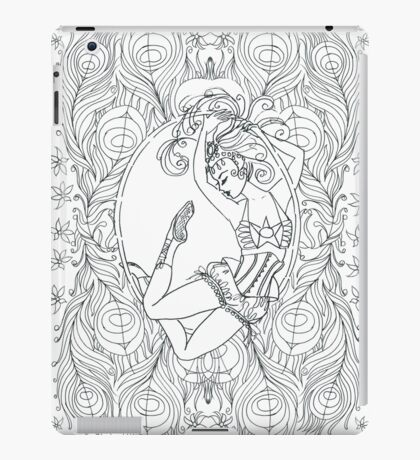 Aerial Girl. iPad Case/Skin