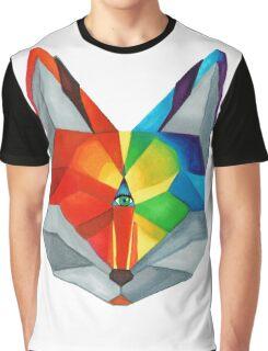 Third Eye Fox Graphic T-Shirt