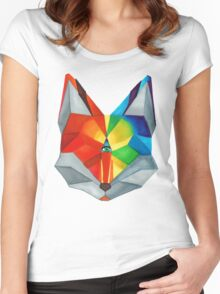 Third Eye Fox Women's Fitted Scoop T-Shirt