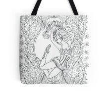 Aerial Girl. Tote Bag