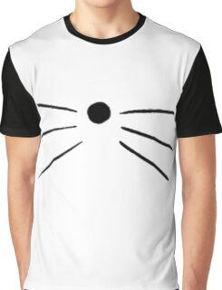 Cat Whiskers Graphic T-Shirt