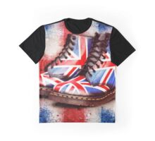 Union Jack Dr Martens Graphic T-Shirt