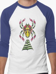 Lucha Spider Men's Baseball ¾ T-Shirt